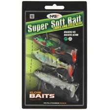 Confezione da 3 Super Soft Baits Esche Luccio Bass Trota Pesce Persico Grossolani Attrezzatura Da Pesca Mare