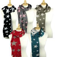 Women's Fashion Winter Warm Soft Wool Scarf Pretty Long Wrap Shawl Scarves US