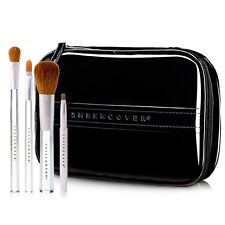 Sheer Cover Ultimate Brush Kit: 4 Makeup Brushes with a FREE Brush Case