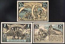 ALLEMAGNE;WESENBERG;3 notgelds;billets de nécéssité;1921/:L222