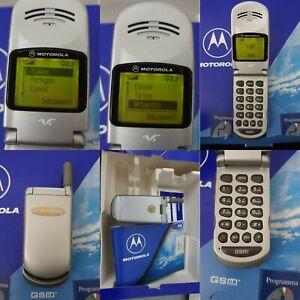 CELLULARE MOTOROLA V50 SILVER GSM SIM FREE DEBLOQUE UNLOCKED V3688 V3690 V51