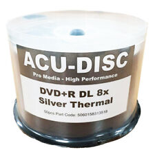 50x ACU-DISC ® DVD+R DL 8.5GB 8x Silver Thermal (High Quality)