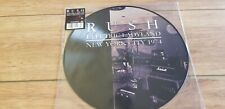 """RUSH  """"ELECTRIC LADYLAND / NEW YORK CITY 1974""""  PICTURE DISC LP - NEW ! MINT"""