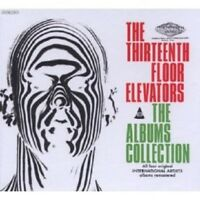 13TH FLOOR ELEVATORS - THE ALBUM COLLECTION 4 CD NEW!