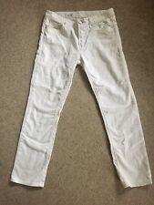 Gap off-white straight leg jeans waist 28