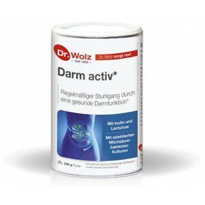 Dr. Wolz Darm activ 209g Pulver + Infos + Gratiszugabe