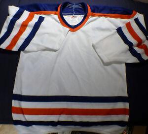 boys girls youth hockey jersery ney york islanders colors blue orange sz  xl