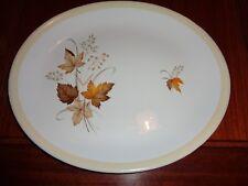 Alfred Meakin Glo White Platter AUTUMN GLORY