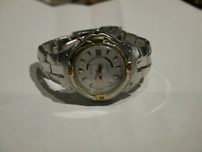 Pulsar by Seiko Mens Kinetic Retro Watch 5M42-0K00 Two Tone New Capacitor