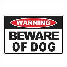 3M Graphics BEWARE OF DOG Warning Sign Vinyl Door Wall Helmet Decal Sticker
