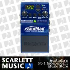 Digitech JamMan Solo XT Effects Stereo Looping FX Pedal Jam Man Micro SDHC Slot