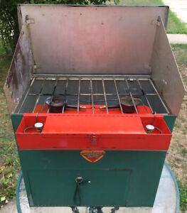 Rare Flinson 1949 Port-A-Camp Kitchen Portable Camping Stove