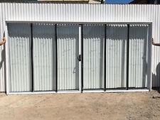 2100h x 4266w NEW Sliding Stacker Door WHITE - 12-14 days FSSSSF Single Glazed