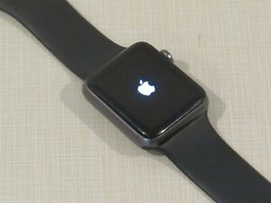 Apple iWatch 7000 Series - Gen 1 - aluminum - 42mm works, watch face needs seal