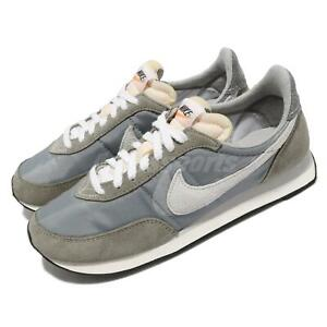 Nike Waffle Trainer 2 SE Grey Suede White Men Casual Shoes Sneakers DM9090-011