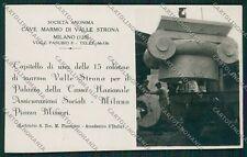 Verbania Milano Valle Strona Piacentini Foto cartolina EE7624