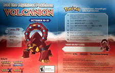 Mythical Volcanion Pokemon X/Y OR/AS Event Code Card [Collector's]
