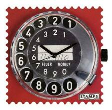 S.T.A.M.P.S. Stamps Uhr Zifferblatt Call me