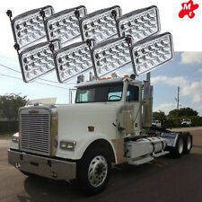 8PC Freightliner Classic Projector LED sealed beam headlight replace hologen HID