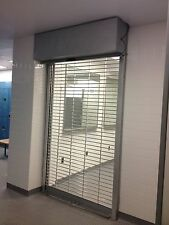 Roll Down Manual Gate for Storefront or Entrance/Exit Door  4w x 8h