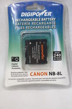 NEW DIGIPOWER Rechargeable Battery Replacement For CANON NB-8L