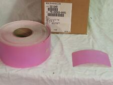 """Nos Rr Donnelley 4""""x6.5"""" purple tags 920 tags on a roll"""