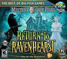 Mystery Case Files: Return to Ravenhearst Jewel Case (PC, 2010)