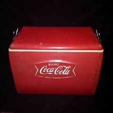 VINTAGE  RARE FRENCH COKE COLA ICE COOLER