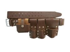 Impalcatura Cintura in Pelle Marrone articolo di qualità (Regno Unito Venditore masive AFFARE)