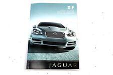 New listing 08-11 Jaguar Xf Owners Manual User Guide Book