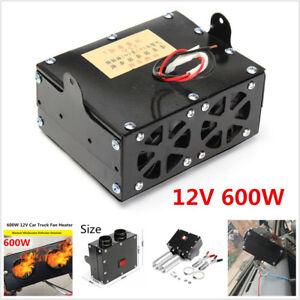 12V Car Truck Fan Heater Windscreen Defroster Demister Heating Air Conditioner