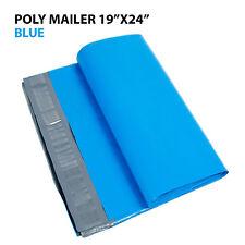 10 19x24 Poly Mailer Shipping Mailing Bag Envelopes Polybag Polymailer Blue