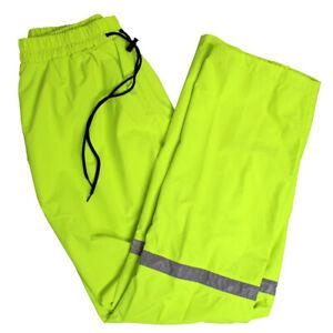 Solar 1 Golf  Men's Nylon Waterproof Rain Pant,  Large Lime