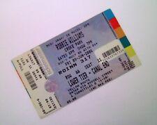 ROBBIE WILLIAMS TICKETS - Unused Ticket Croke Park Dublin 09/06/06 Memorabilia