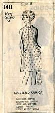 1970's VTG Mail Order by Millie Mercury  Misses' Dress Sewing Pattern 1411   8