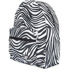 Yak Pak Zebra School Backpack Bag NEW NWT