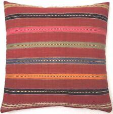 Kelim Kissen Selten Antike Nomaden Perser Jejim Handgewebt Rot Pillow Cushion
