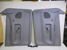 94-97 Dodge Ram door panel set L&R LITE GREY crank windows manual locks