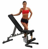 Body-Solid Adjustable Flat Incline Decline Bench GFID31 - Fitness Equipment