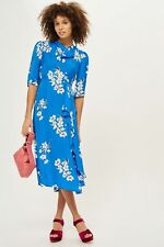 *New * Topshop Floral Jacquard Midi Dress size 12, Stunning, Sold Out
