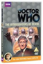 Doctor Who The Ambassadors of Death 5051561034848 With Jon Pertwee Region 2