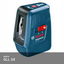 Bosch GLL 3X Professional Cross Compact 3- Line Laser Self-Level 50ft 1.1 lbs