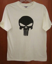PUNISHER update logo T shirt med Marvel comic 2004 beat-up tee Thomas Jane movie