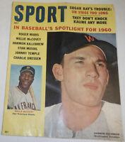 Sport Magazine Roger Maris & Harmon Killebrew May 1960 072814R