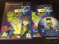 PS2 : ben 10 alien force
