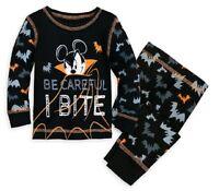 Disney Store Baby Girls Minnie Mouse Reindeer Holiday Pj Pals Pajama Sleep Set