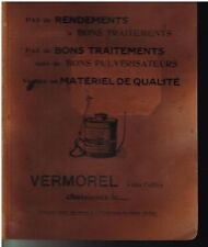 CLASSEUR VERMOREL VILLEFRANCHE PULVERISATEURS MACHINES AGRICOLES VITICOLES