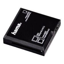 "Hama USB-2.0-Kartenleser ""All in One"", SD/microSD, Schwarz"