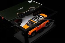 Diecast Car Model All New Jeep Renegade Limited 1:18 (Orange) + GIFT!!!