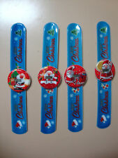 Christmas Santa ALL AGES digital Slap Watches BRAND NEW (4 types to choose from)